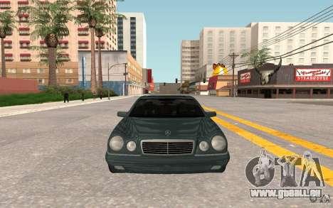 Mercedes Benz E420 W210 pour GTA San Andreas laissé vue