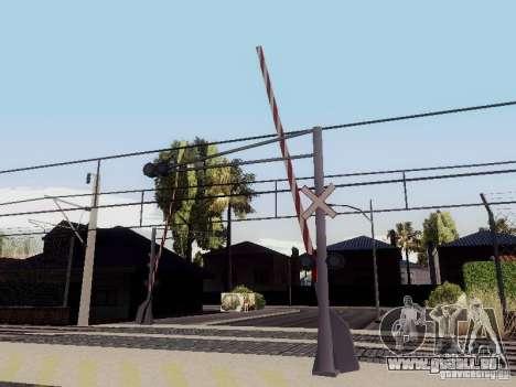 BAHNÜBERGANG RUS V 2.0 für GTA San Andreas dritten Screenshot