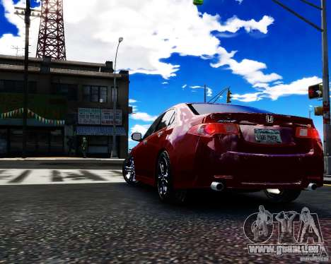 Honda Accord Tuning by Type-S pour GTA 4 est une gauche