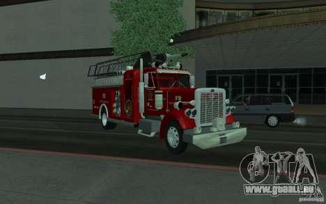 Peterbilt 379 Fire Truck ver.1.0 pour GTA San Andreas vue de droite