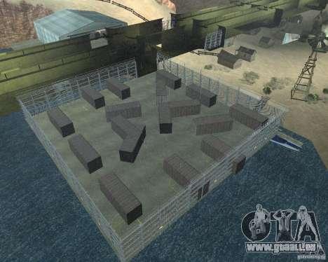 DRAGON base v2 pour GTA San Andreas deuxième écran