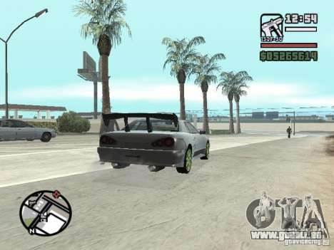 Elegy First Update By reNz für GTA San Andreas rechten Ansicht