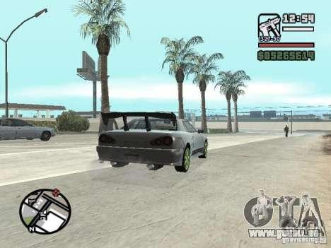 Elegy First Update By reNz pour GTA San Andreas vue de droite