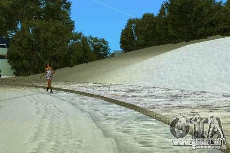 Snow Mod v2.0 GTA Vice City pour la troisième écran