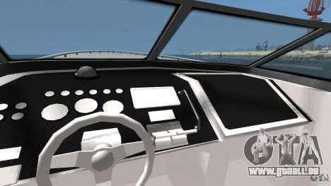 Nouveau Jetmax pour GTA 4 Vue arrière