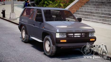 Nissan Terrano für GTA 4 Rückansicht
