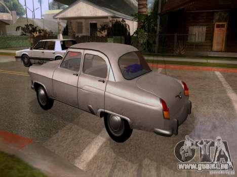 GAZ 21 Volga pour GTA San Andreas laissé vue