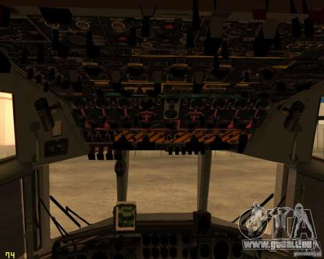 C-130 hercules pour GTA San Andreas moteur
