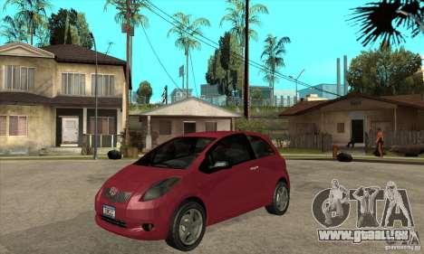 Toyota Yaris für GTA San Andreas