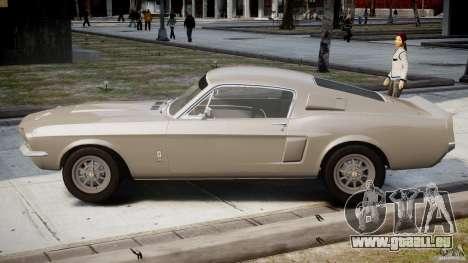 Shelby GT500 1967 pour GTA 4 est une gauche