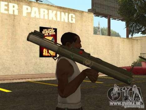 LAW Rocket launcher für GTA San Andreas dritten Screenshot