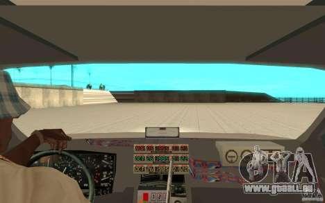 DeLorean DMC-12 (BTTF1) pour GTA San Andreas vue arrière