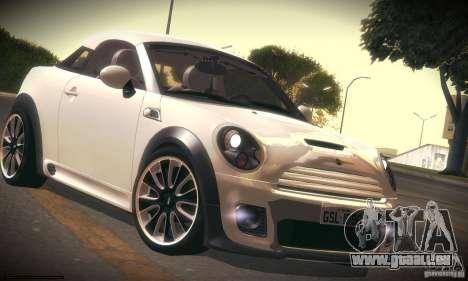 Mini Concept Coupe 2010 pour GTA San Andreas laissé vue