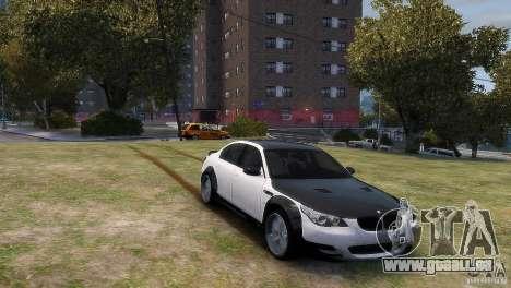 BMW M5 Lumma für GTA 4 hinten links Ansicht