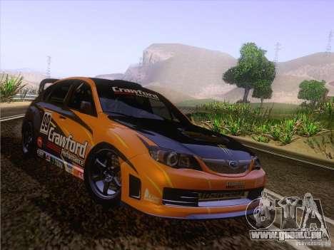 Subaru Impreza WRX STI N14 Gymkhana pour GTA San Andreas