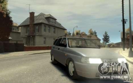 Lada ВАЗ 2111 pour GTA 4 Vue arrière