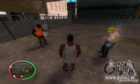 NEW STREET SF MOD pour GTA San Andreas deuxième écran