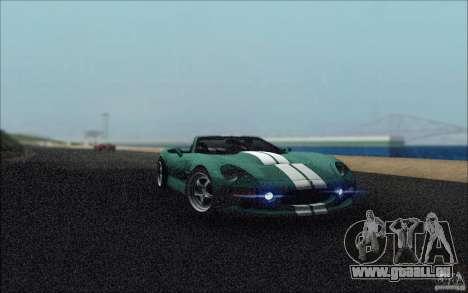 Shelby Series 1 1999 für GTA San Andreas Innenansicht