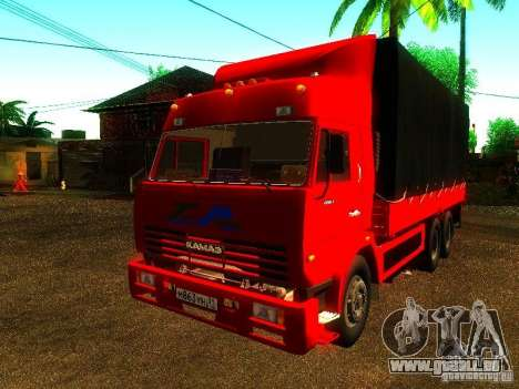 KAMAZ 53215 pour GTA San Andreas
