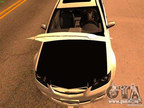 Chevrolet Lumina pour GTA San Andreas vue de droite