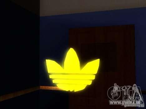 Adidas Logo für GTA San Andreas zweiten Screenshot