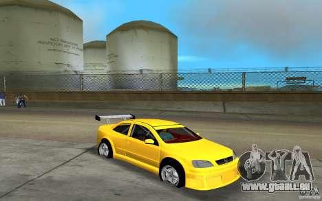 Opel Astra Coupe pour une vue GTA Vice City de la gauche