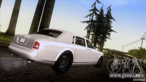Rolls Royce Phantom Hamann pour GTA San Andreas laissé vue