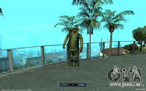 Crime Life Skin Pack für GTA San Andreas sechsten Screenshot