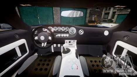 Ford Hennessey GT1000 2006 v2.0 EPM pour GTA 4 est un droit