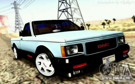 GMC Syclone Stock für GTA San Andreas
