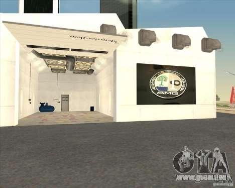 AMG showroom für GTA San Andreas fünften Screenshot