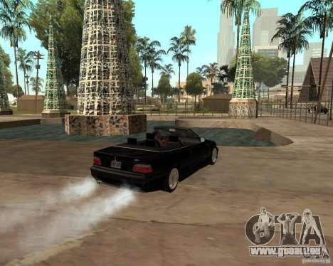 BMW M3 e36 1997 pour GTA San Andreas laissé vue