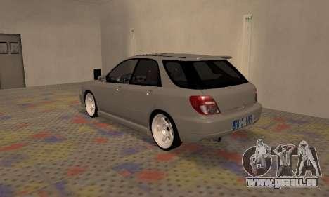 Subaru Impreza WRX Wagon für GTA San Andreas rechten Ansicht