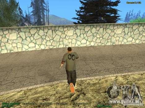 DMX pour GTA San Andreas deuxième écran