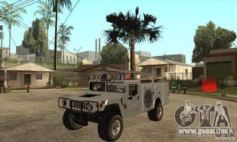 Hummer H1 Utility Truck für GTA San Andreas