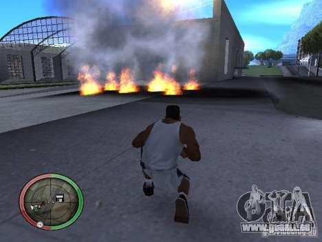 Dynamite MOD pour GTA San Andreas septième écran