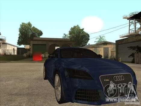 Audi TT RS 2010 pour GTA San Andreas vue arrière