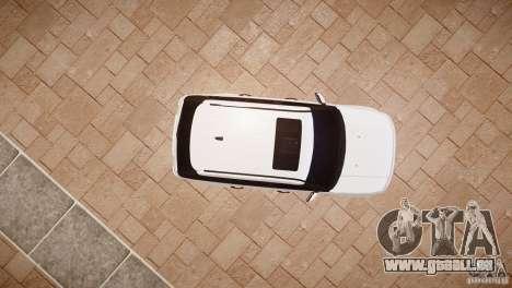 Range Rover Sport Supercharged v1.0 2010 pour GTA 4 Vue arrière