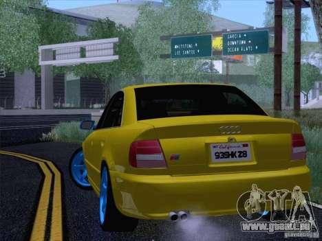 Audi S4 DatShark 2000 pour GTA San Andreas vue de droite