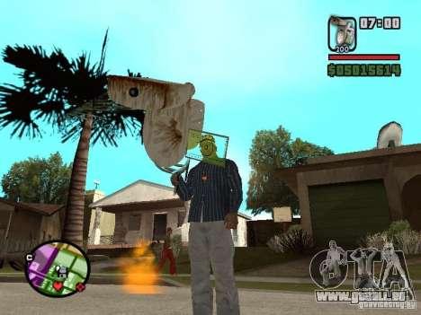 Cuvette de toilette pour GTA San Andreas deuxième écran