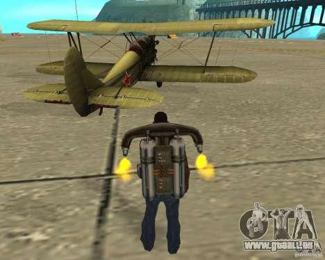 An-2 für GTA San Andreas rechten Ansicht