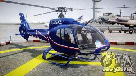 Eurocopter EC130B4 NYC HeliTours REAL für GTA 4 Rückansicht