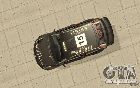 2 Werke für den Ford Focus RS WRC 08 für GTA San Andreas Innenansicht