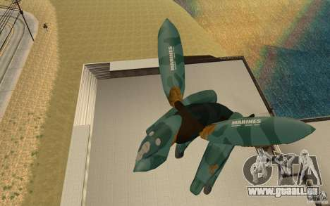 Metal gear ray pour GTA San Andreas
