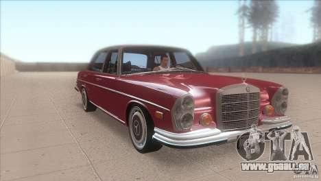 Mercedes-Benz 300 SEL pour GTA San Andreas vue arrière