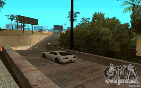Voitures de sport près de la rue Grove pour GTA San Andreas troisième écran
