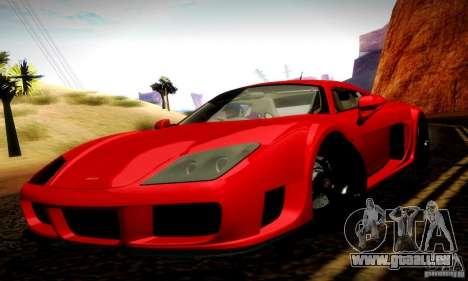 Noble M600 Final pour GTA San Andreas