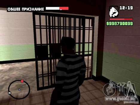 Un arrêt réel pour GTA San Andreas cinquième écran