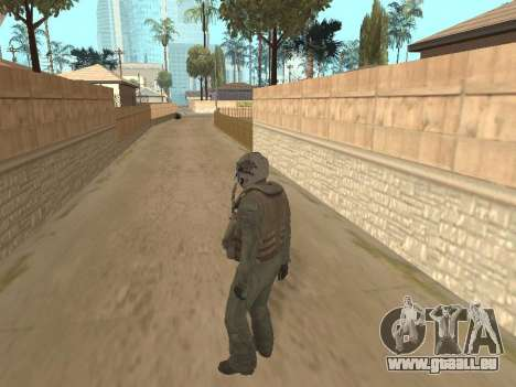 Avion de chasse pour GTA San Andreas troisième écran