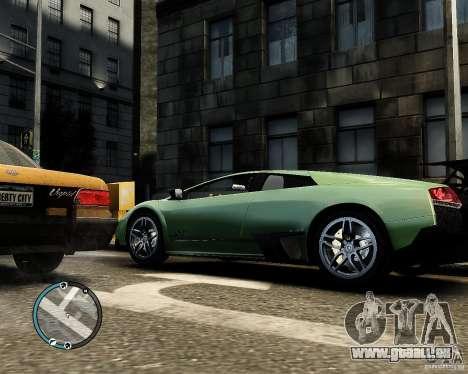 Lamborghini Murcielago LP 670-4 SuperVeloce 2010 für GTA 4 linke Ansicht